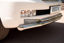 Toyota Land Cruiser 200 защита переднего бампера d 76/42 LCZ-000206